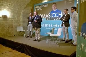 Presentazione liste Emanuele Tomasicchio