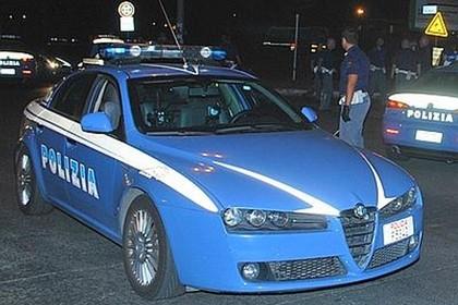 Polizia di Stato di notte