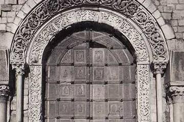 Portale della Cattedrale di Trani in bronzo del Barisano da Trani