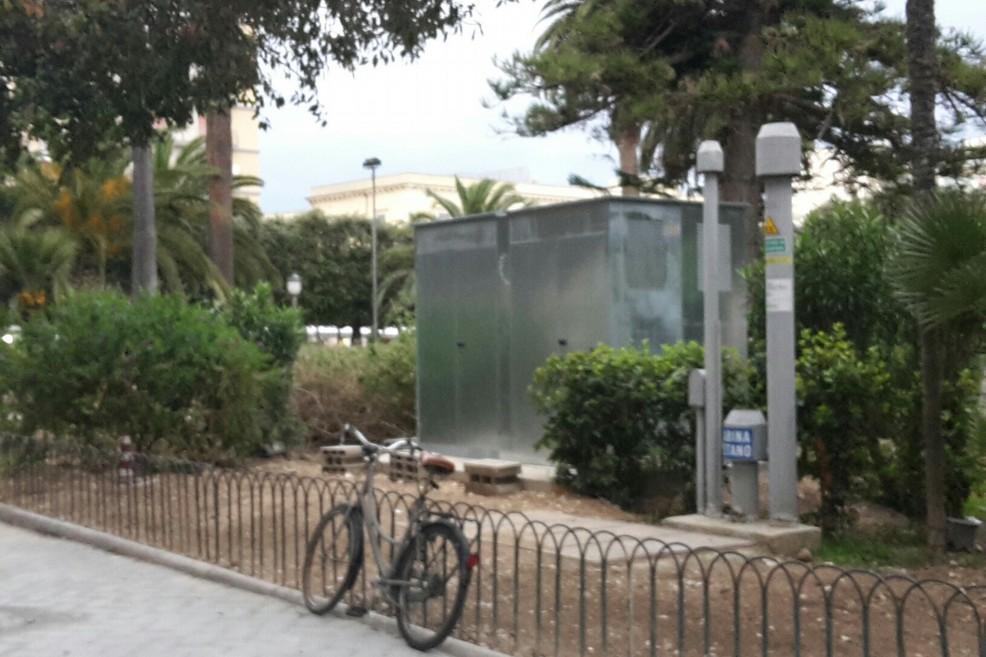 Trani cabina del gas completata piazza della repubblica for Planimetrie della cabina del lago