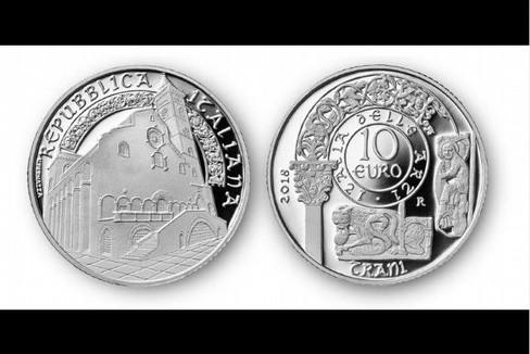 La Cattedrale di Trani su moneta d'argento