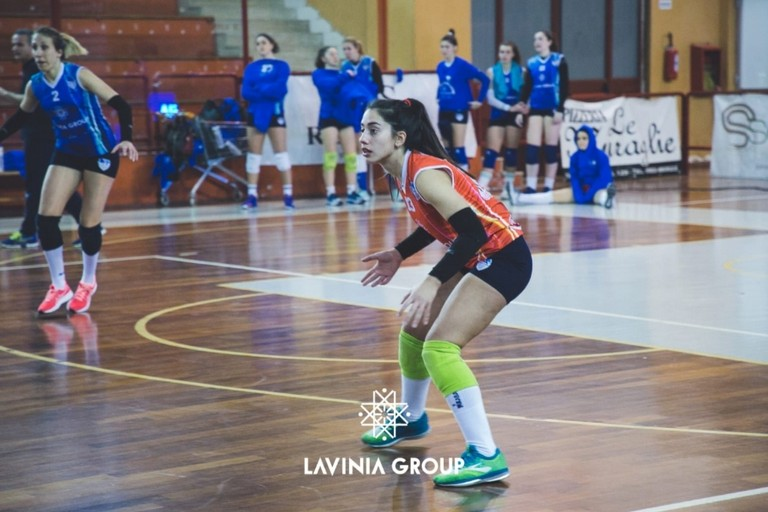 Lavinia volley