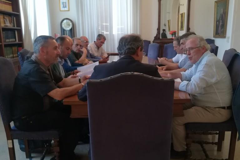 Incontro ad Andria dei sindacati