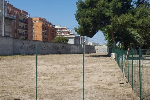 Area sgambamento per cani a Villa Bini