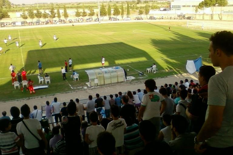 Stadio Fanelli Ortanova foto Il Megafono dei reali Siti
