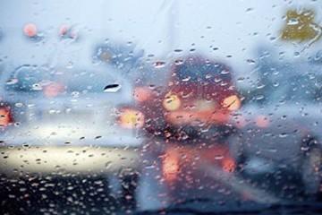 Strada Traffico Pioggia