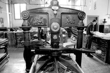 Impianto tipografia '800