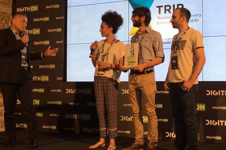 """Digithon 2017, premiata la startup tranese """"Trip"""""""
