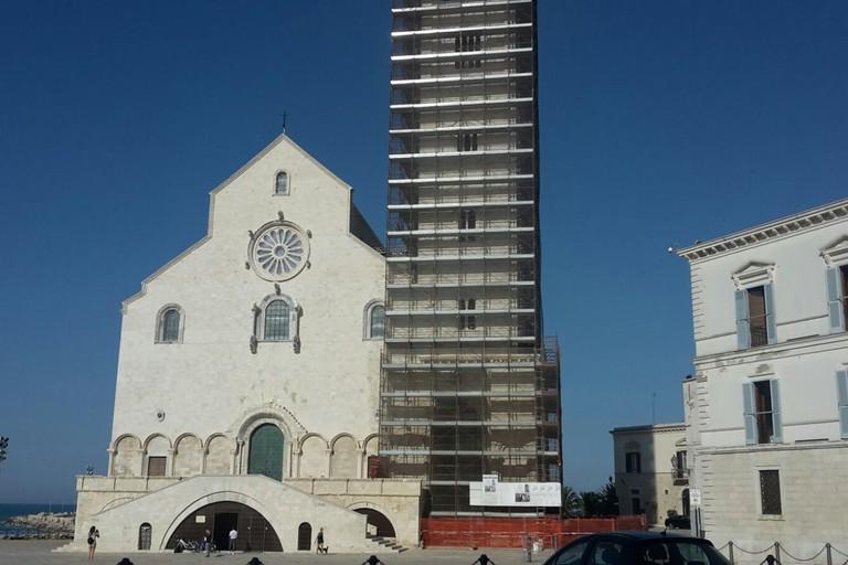 Cattedrale di Trani, ultimati i lavori di restauro del campanile