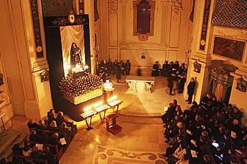 Venerazione della Madonna Addolorata alla chiesa di Santa Teresa