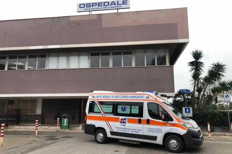 Ambulanza 118 Oer Trani