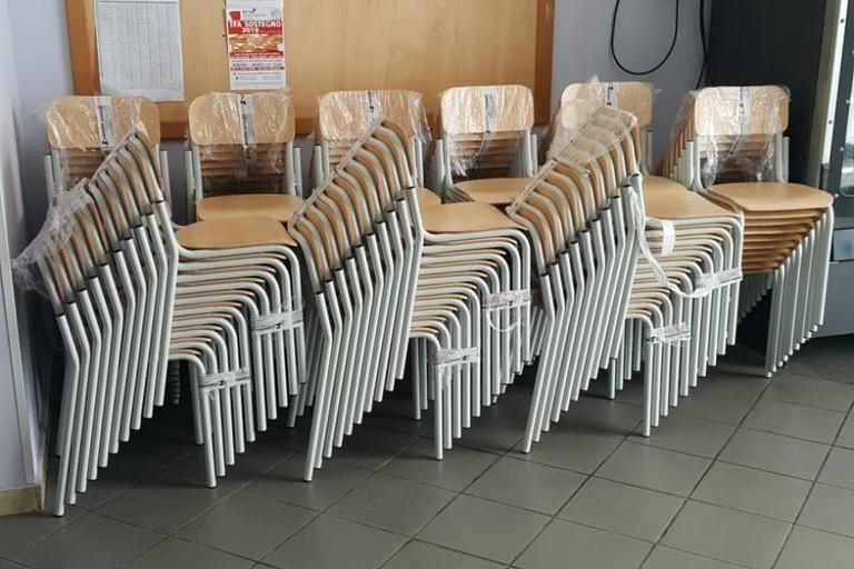 Nuove sedie