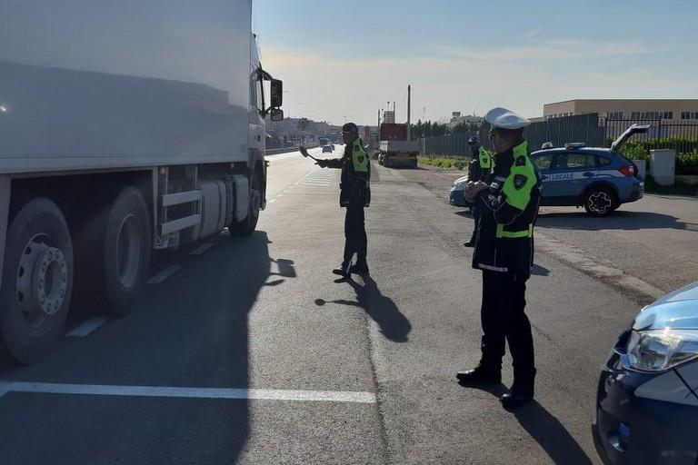 Controlli polizia locale di Massafra