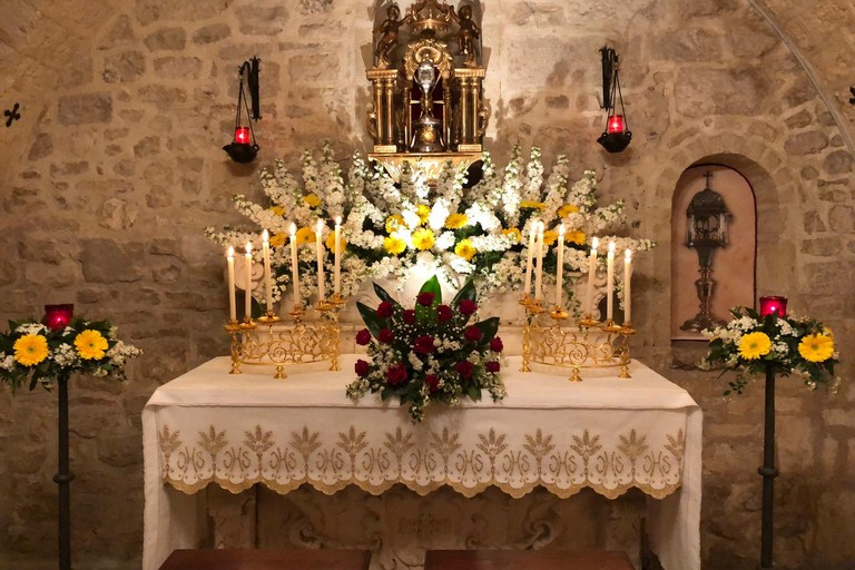 Altari della reposizione a Trani