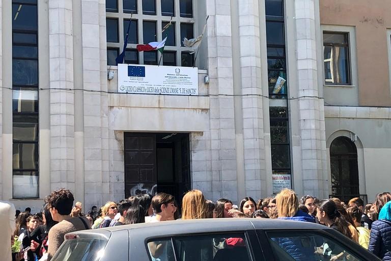 Scuola, liceo de Sanctis