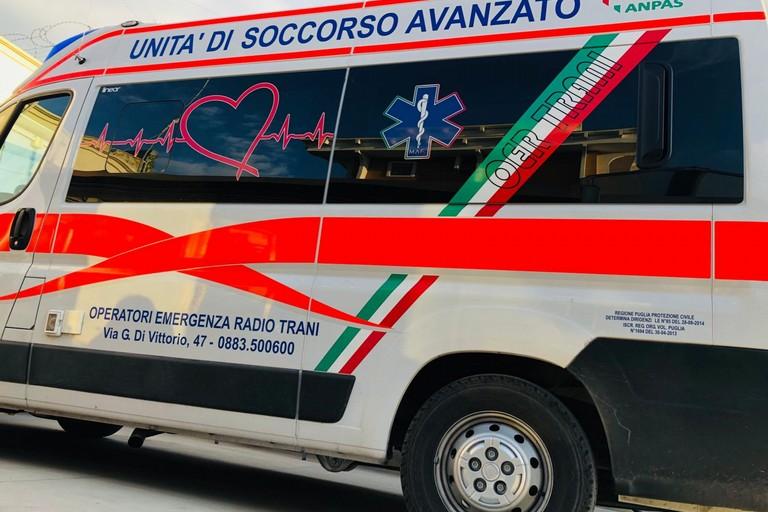 Ambulanza Oer Trani
