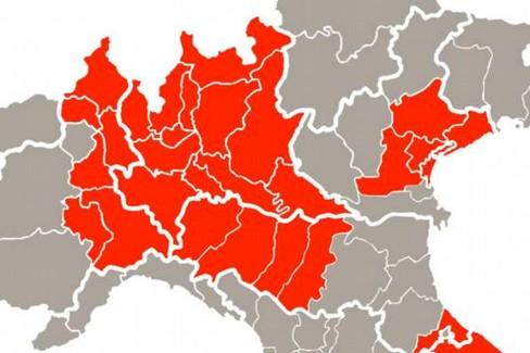 Zone rosse coronavirus